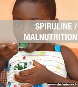 La spiruline et la malnutrition